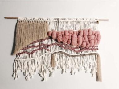 gyapjú fali dekoráció